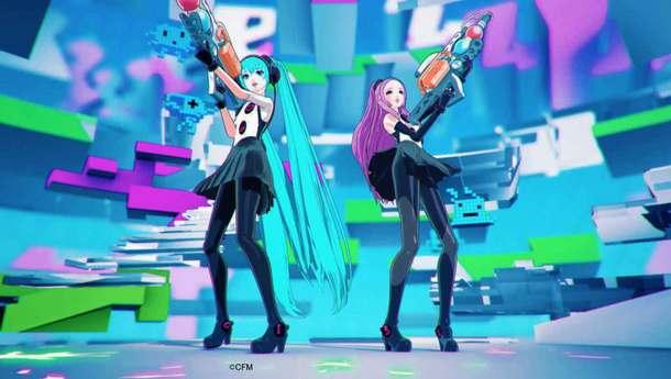 「B Who I Want 2 B feat. HATSUNE MIKU」MV