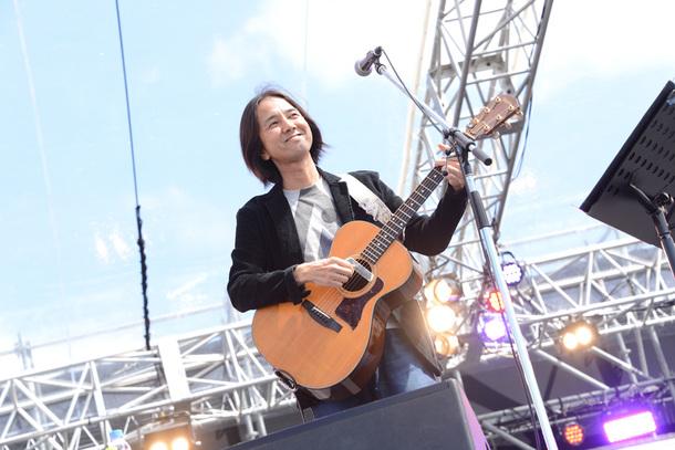 9月20日(日)@「京都音楽博覧会2015 IN 梅小路公園」(高野寛)