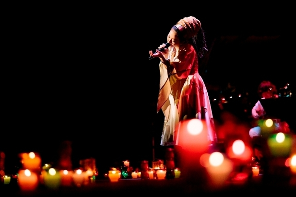 「Misia Candle Night Live」河口湖ステラシアターライブの模様 Photo:田中雅也