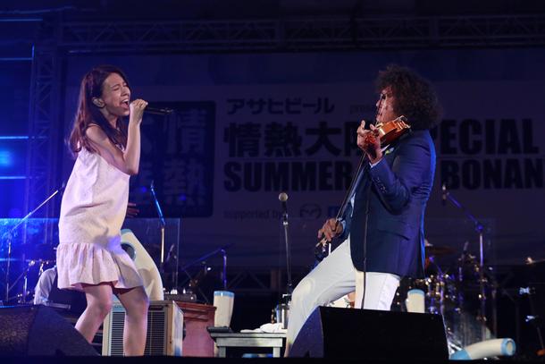 8月22日(土)@情熱大陸 SPECIAL LIVE SUMMER TIME BONANZA'15【葉加瀬太郎】