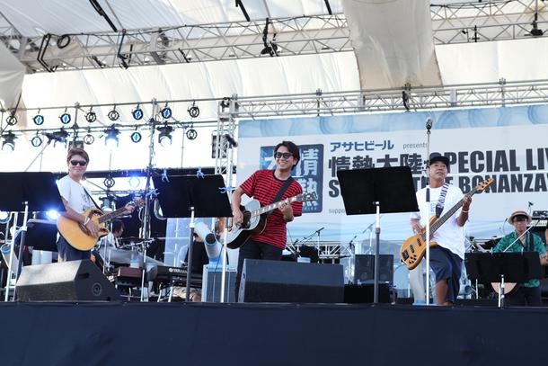 8月22日(土)@情熱大陸 SPECIAL LIVE SUMMER TIME BONANZA'15【藤井フミヤ】