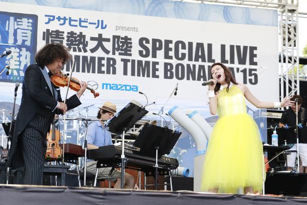 8月22日(土)@情熱大陸 SPECIAL LIVE SUMMER TIME BONANZA'15【May J.】