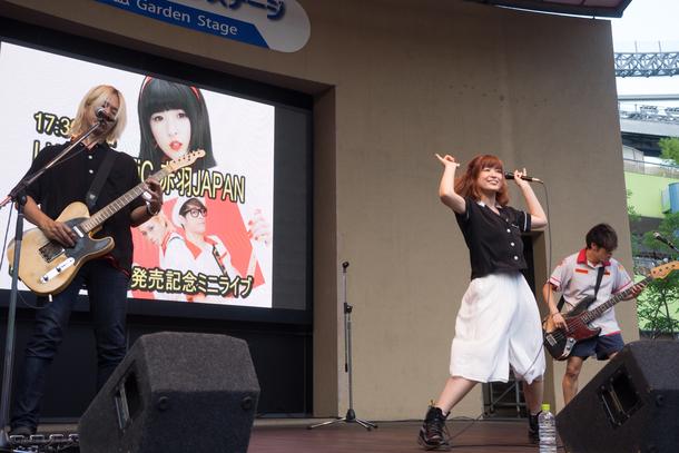 8月12日@東京ドームシティ ラクーアガーデンステージ
