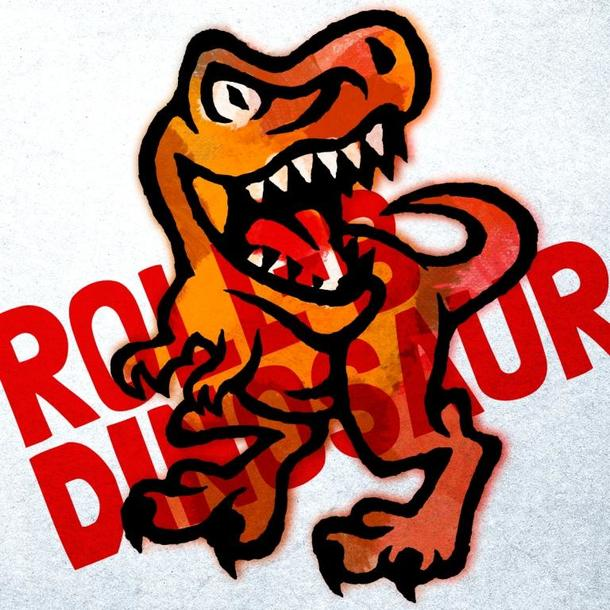 ROLL-B DINOSAUR ロゴ