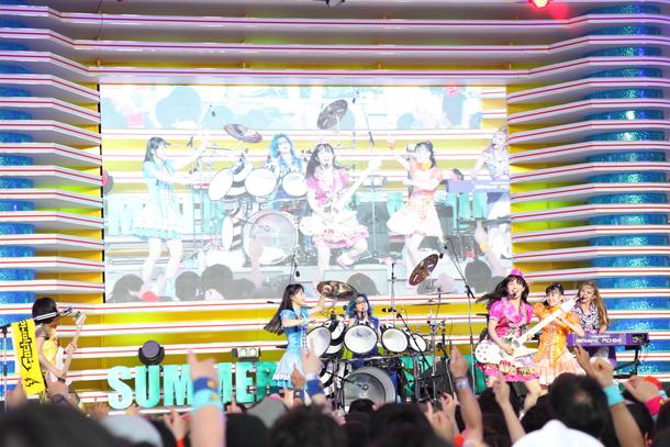 7月30日(木)@「お台場夢大陸~ドリームメガナツマツリ~ 『めざましライブ』 」