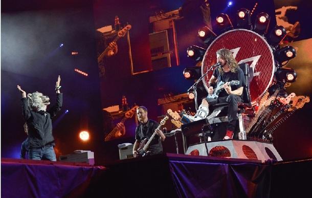 7月24日(土)@「フジロック・フェスティバル 2015」【Foo Fighters×Jean-ken Johnny(MAN WITH A MISSION)】