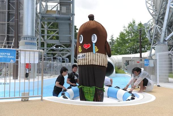 6月29日(月)@「東京サマーランド プール開き宣言!2015」