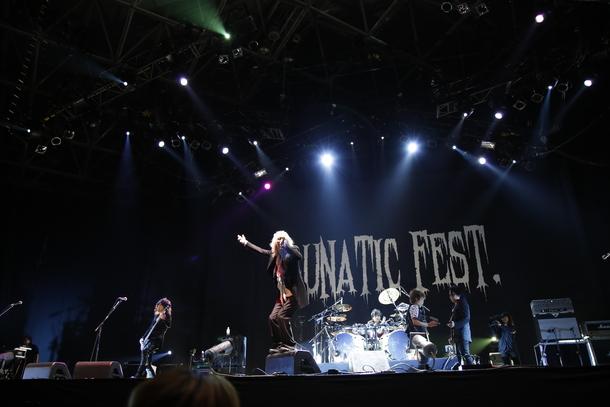 6月28日(日)@『LUNATIC FEST.』【D'ERLANGER】