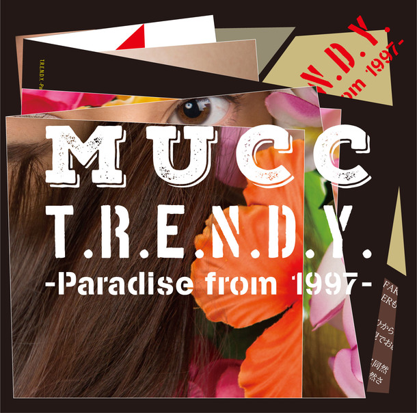 ミニアルバム『T.R.E.N.D.Y. -Paradise from 1997-』【初回生産限定盤】(CD+DVD)/MUCC