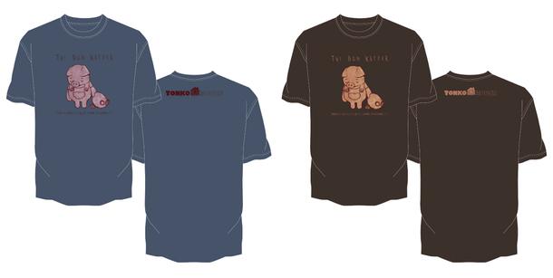 「10人Tシャツ企画」堤大介