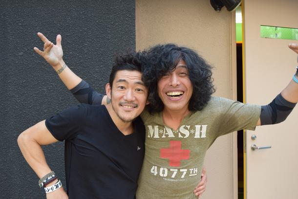 TOSHI-LOW (BRAHMAN/OAU)×タイジ