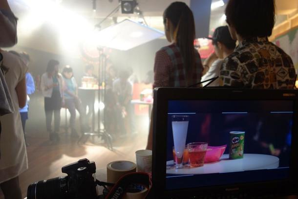 ブランドムービー「Pringles meets Cups」メイキング