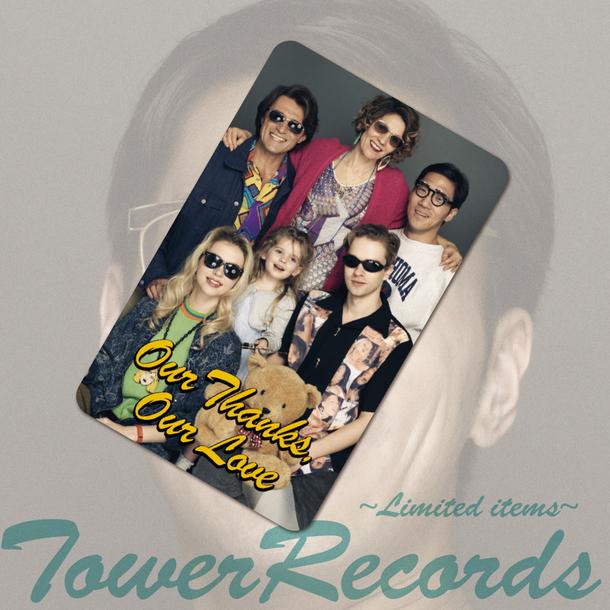 TOWER RECORDS限定 先着購入特典 ステッカー