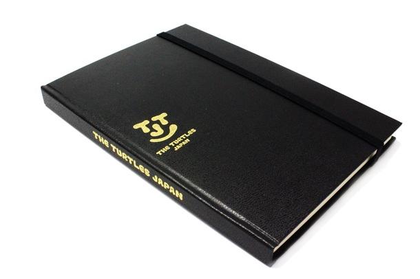 THE TURTLES JAPAN オリジナルノートブック(ハードカヴァー仕様/全192 ページ)