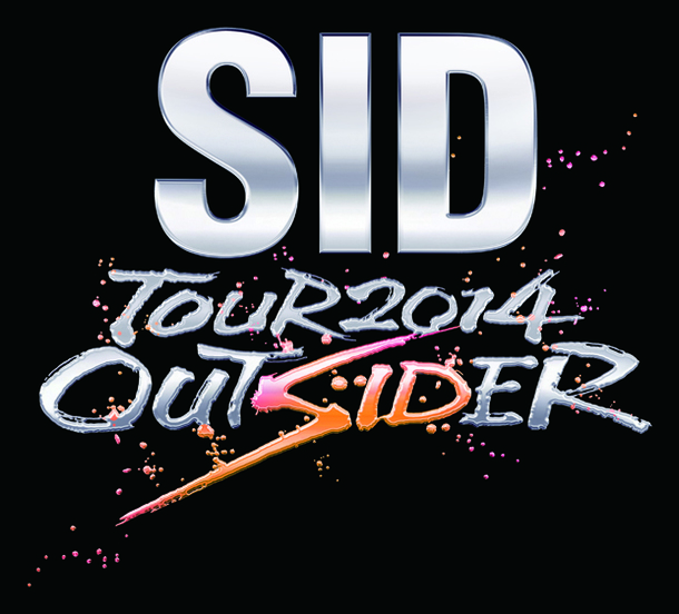 「SID TOUR 2014 OUTSIDER」ロゴ