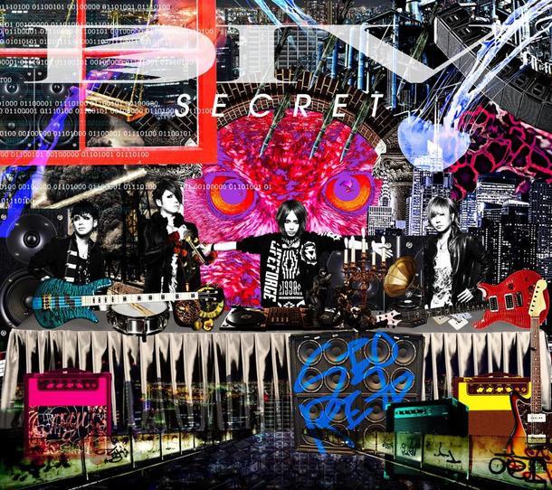 アルバム『SECRET』【初回生産限定盤】(CD+DVD)
