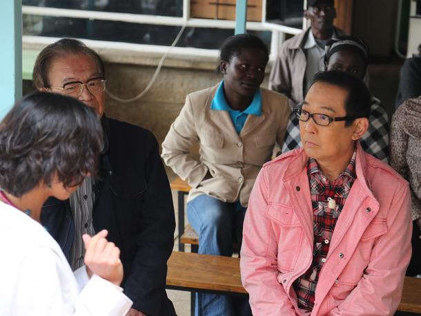 昨年11 月ケニアで医療施設の現状について