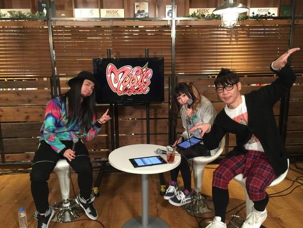 NOTTV3 音楽情報番組『MUSICにゅっと。』(2月17日放送:だーよし)