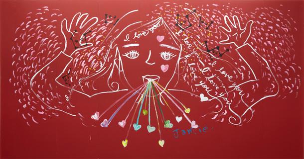 「emotional journey 大宮エリー、初の大絵画展」より