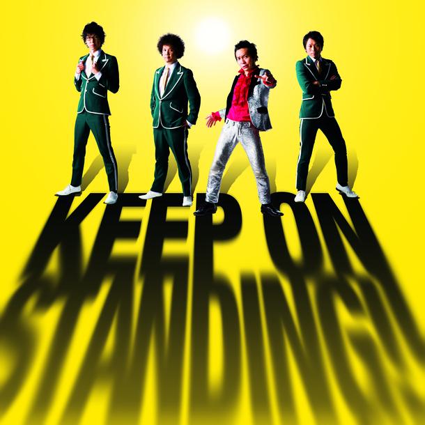 アルバム『KEEP ON STANDING!!』【通常盤】(CD)