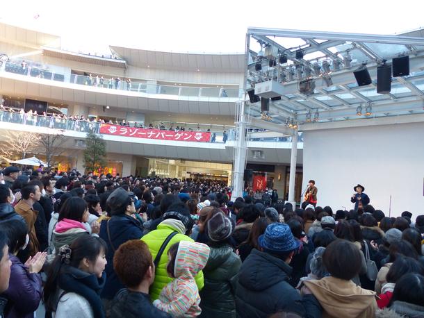 1月10日(日)@神奈川・ラゾーナ川崎プラザ