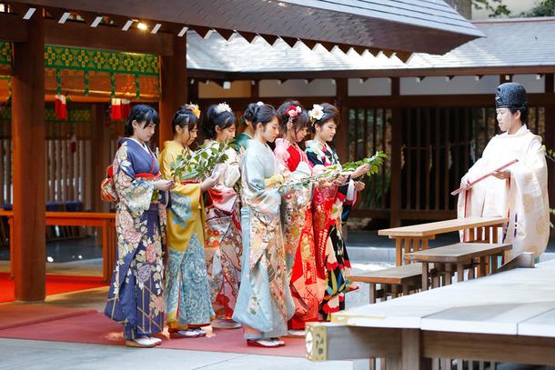 1月10日(土)@乃木神社