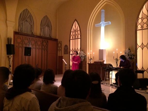12月25日@福岡県 赤坂ル・アンジェ教会