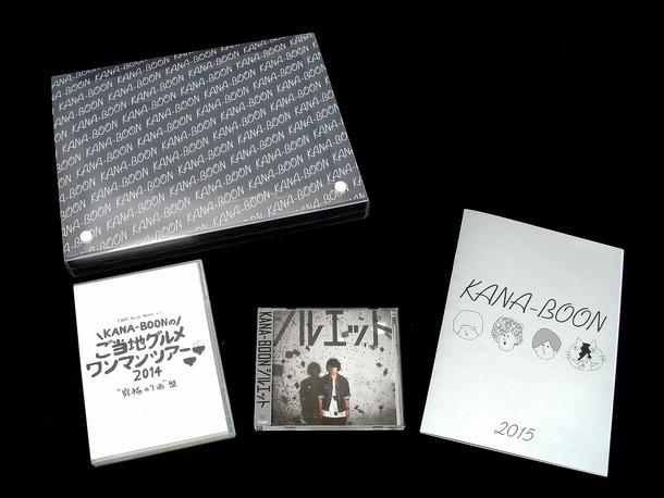 シングル「シルエット」【完全生産限定盤】 (CD+DVD / 豪華特殊パッケージ)「奥義!KANA-BOON超合体BOX」