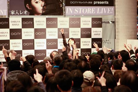 11月18日@マルイシティ渋谷1F店頭プラザ