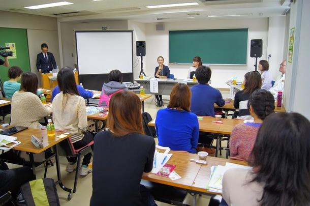 市井紗耶香、中野健康医療専門学校のオープンキャンパスでのトーク&イベント