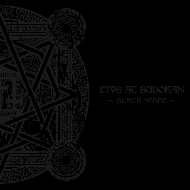 アルバム『LIVE AT BUDOKAN 〜BLACK NIGHT〜』