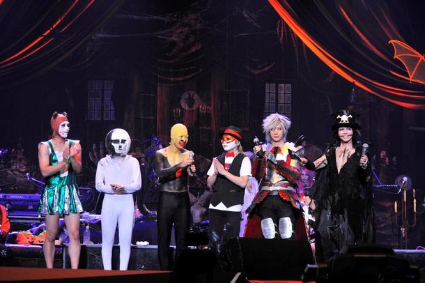 11月26日(日)@神戸ワールド記念ホール(HYDE・DAIGO・ゴールデンボンバー)