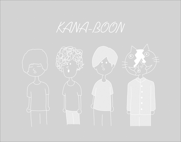 「奥義!KANA-BOON超合体BOX」クリアケース(裏)