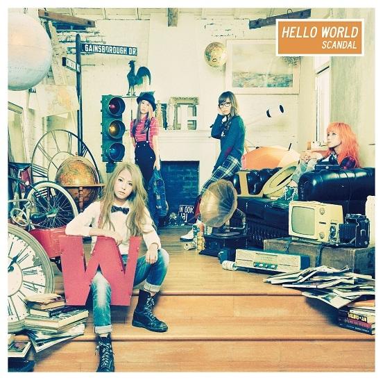 アルバム『HELLO WORLD』【通常盤】(CD)