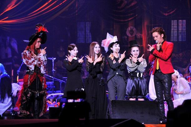 10月25日@神戸ワールド記念ホール(HYDE、DAIGO、Silent Siren)