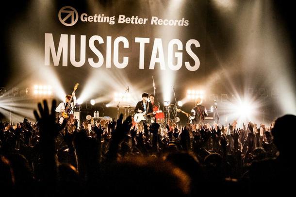 10月17日(金)@『MUSIC TAGS Vol.2~バンド戦国時代~』(go!go!vanillas)