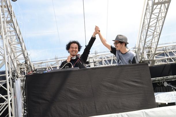 9月21日@「京都音楽博覧会2013 IN 梅小路公園」(サラーム海上)