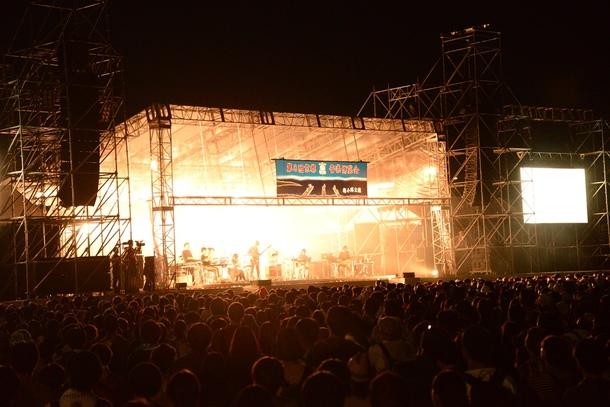9月21日@「京都音楽博覧会2013 IN 梅小路公園」(くるり)