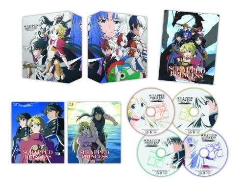 「スクラップド・プリンセス」Blu-rayBOX展開図 (C)2003 すてプリ製作委員会