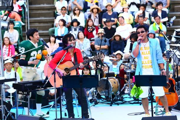 9月13日@『靭公園 MUSIC FESTA FM COCOLO ~風のハミング~』