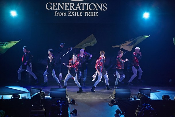 「a-nation taiwan」(GENERNATIONS from EXILE TRIBE)