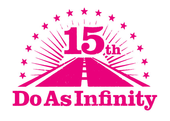 デビュー15周年記念ロゴ