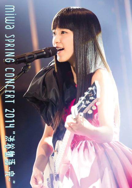 "DVD & Blu-ray『miwa spring concert 2014""渋谷物語~完~""』"