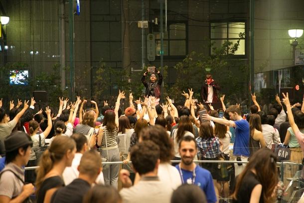 9月7日@アップルストア表参道