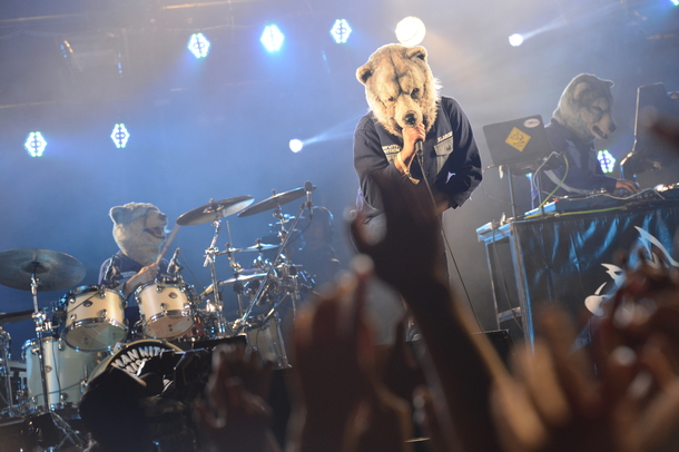 8月30日(土)@「SWEET LOVE SHOWER 2014」(MAN WITH A MISSION)