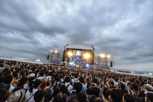 8月30日@「KANA-BOON野外ワンマン ヨイサヨイサのただいまつり! in 泉大津フェニックス」