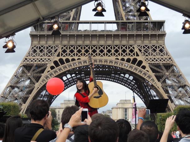 8月30日@「東北復興祭<環 WA>in Paris」