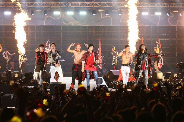 【三代目J Soul Brothers】【BIGBANG】8月29日@「a-nation stadium fes.」
