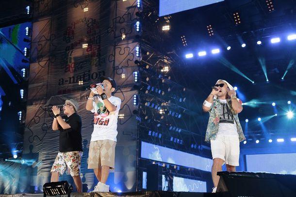 【ケツメイシ】【BIGBANG】8月29日@「a-nation stadium fes.」
