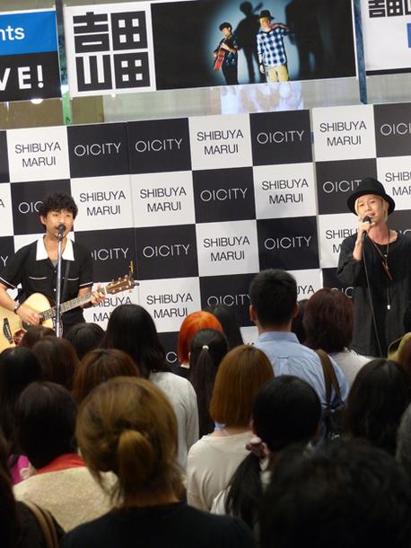 8月27日@東京・渋谷のマルイシティ渋谷1F